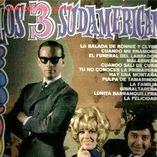 Discos de vinilo: MUSICA GOYO - LP - TRES SUDAMERICANOS 1968 *FF99. Lote 23634252