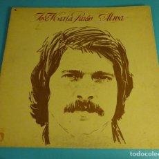 Discos de vinilo: JOSÉ MARÍA PURÓN. ALMA. Lote 68500341