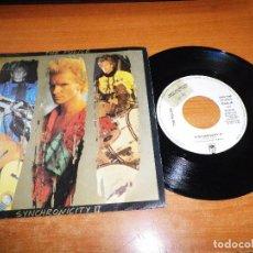 Discos de vinilo: THE POLICE SYNCHRONICITY II SINGLE VINILO PROMO 1983 ESPAÑA STING SOLO UNA CARA RARO. Lote 68508085