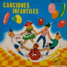 Discos de vinilo: CANCIONES POPULARES INFANTILES.CORO DE NIÑAS Y ORQUESTA.ARROYO CLARO.LA VIUDITA....EP. Lote 68510617