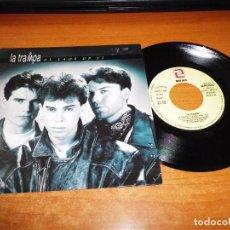 Discos de vinilo: LA TRAMPA AL LADO DE TI SINGLE VINILO PROMO 1992 PABLO PEREA MISMO TEMA. Lote 68513293