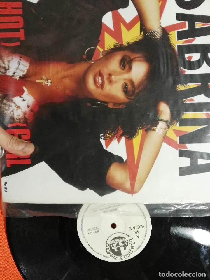 Discos de vinilo: Maxi Lp Sabrina Hot girl - Foto 2 - 68514597