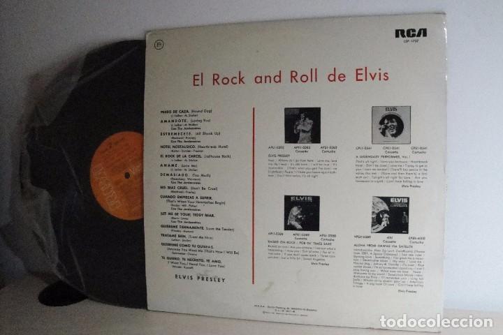 Discos de vinilo: ELVIS ROCK AND ROLL =RCA= HISPAVOZ=MADRID= 1975= - Foto 2 - 68540509