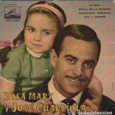 Discos de vinilo: ROSA MARY Y JOSE GUARDIOLA - EP SPAIN 1962 . Lote 68545453