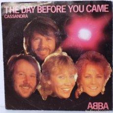 Discos de vinilo: ABBA - SINGLE -THE DAY BEFORE YOU CAME. Lote 68546749