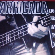 Discos de vinilo: BARRICADA EN DIRECTO 2LP EL DROGAS ROSENDO. Lote 68548657