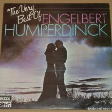 Discos de vinilo: ENGELBERT HUMPERDINCK,THE VERY BEST EDICION ESPAÑOLA DEL 81 2 LP. Lote 68551005