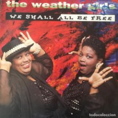 Discos de vinilo: THE WEATHER GIRLS - WE SHALL ALL BE FREE . Lote 68568905