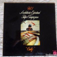 Discos de vinilo: FELIPE CAMPUZANO – ANDALUCÍA ESPIRITUAL VOL. 1 - CÁDIZ - AMBAR 1977. Lote 68570461