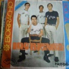 Discos de vinilo: LOS BRINCOS BORRACHO SINGLE 1965-VENTA MINIMA 6 EU DISCO DE VINILO. Lote 68574141