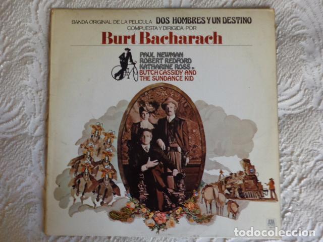 DOS HOMBRES Y UN DESTINO - BURT BACHARACH - AM RECORDS 1970 (Música - Discos de Vinilo - EPs - Bandas Sonoras y Actores)