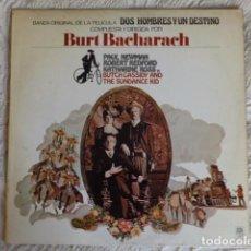 Discos de vinilo: DOS HOMBRES Y UN DESTINO - BURT BACHARACH - AM RECORDS 1970. Lote 96571899