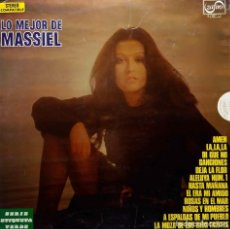 Discos de vinilo: MASSIEL. LO MEJOR. LP ESPAÑA ZAFIRO. Lote 68591653