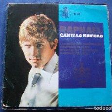 Discos de vinilo: EP RAPHAEL, CANTA A LA NAVIDAD: 1965. Lote 68599017