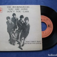 Discos de vinilo: THE BUCKINGHAMS DON´T YOU CARE + 3 EP PORTUGUES 1967 PDELUXE. Lote 68605365