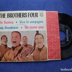 Discos de vinilo: THE BROTHERS FOUR OLE SMOKEY + 3 EP SPAIN 1962 PDELUXE. Lote 68605537