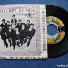 Discos de vinilo: BROOKLYN BRIDGE WELCOME ME LOVE + 3 EP MEJICO PDELUXE . Lote 68605721