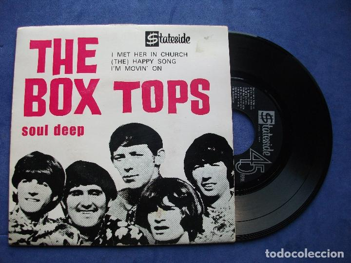 fast delivery great prices great prices THE BOX TOPS SOUL DEEP +3 EP PORTUGUES PDELUXE