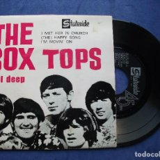Discos de vinilo: THE BOX TOPS SOUL DEEP +3 EP PORTUGUES PDELUXE. Lote 68605865