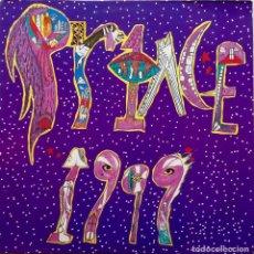 Discos de vinilo: PRINCE. 1999. DOBLE LP ALEMANIA CON FUNDAS INTERIORES CON LETRAS Y FOTO + HOJA PUBLICITARIA. Lote 68607869