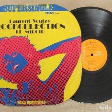 Discos de vinilo: LAURENT VOULZY ROCKOLLECYION LE MIROIR MAXI SINGLE VINILO. Lote 68610473