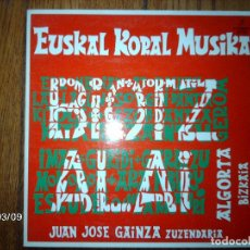Discos de vinilo: BIOTZ ALAI - EUSKAL KORAL MUSIKA . Lote 68612981