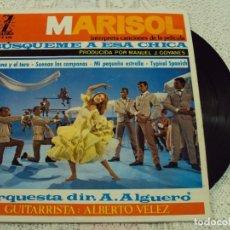 Discos de vinilo: DISCO DE VINILO, CON CANCIONES DE LA JUVENTUD DE MARISOL. Lote 68618501