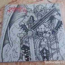 Discos de vinilo: DESTRUKTOR – BRUTAL DESECRATION - EP DEATH METAL AUSTRALIA- EDICION NUMERADA. Lote 68620761