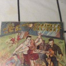 Disques de vinyle: SINGLE GABINETE CALIGARI - EL CALOR DEL AMOR EN UN VAR / REY O VASALLO. PROMO 1986. Lote 68642197
