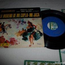Discos de vinilo: LA MORENA DE MI COPLA MI JACA. Lote 68646285