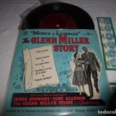 Discos de vinilo: THE GLENN MILLER STORY MUSICA Y LAGRIMAS. Lote 68646469