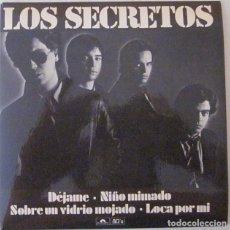 Discos de vinilo: LOS SECRETOS - DEJAME + 3 TEMAS POLYDOR - 1980 CON ENCARTE SERIE LIMITADA Nº 1176 - COMO NUEVO. Lote 68647253