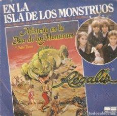 Discos de vinilo: VENDO SINGLE DE REGALIZ, (MAS INFORMACIÓN EN 2ª FOTO EN EL INTERIOR)., AÑO 1981.. Lote 68661029
