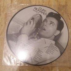 Discos de vinilo: CLIFF RICHARD .MOVE IT. LP 1985.PICTURE DISC.. Lote 68669921