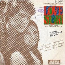 Discos de vinilo: BSO PELÍCULA LOVE STORY SINGLE 1971. Lote 68678441