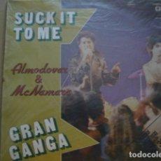 Discos de vinilo: ALMODOVAR Y MCNAMARA. SUCK IT TO ME. VICTORIA VIC-040 LP 1982 SPAIN. Lote 68681185