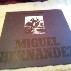 Discos de vinilo: JOAN MANUEL SERRAT - MIGUEL HERNANDEZ - LP . Lote 68684649