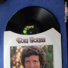 Discos de vinilo: TOM JONES SOMETHIN BOUT YOU BABY I LIKE LP PARROT 1974 NEW YORK PEPETO. Lote 68686009