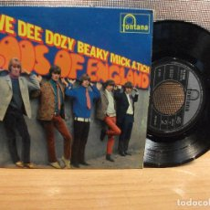 Discos de vinilo: DAVE DEE, DOZY, BEAKY , MICK & TICH LOOS ENGLAND + 3 EP UK 1967 PDELUXE. Lote 68692017
