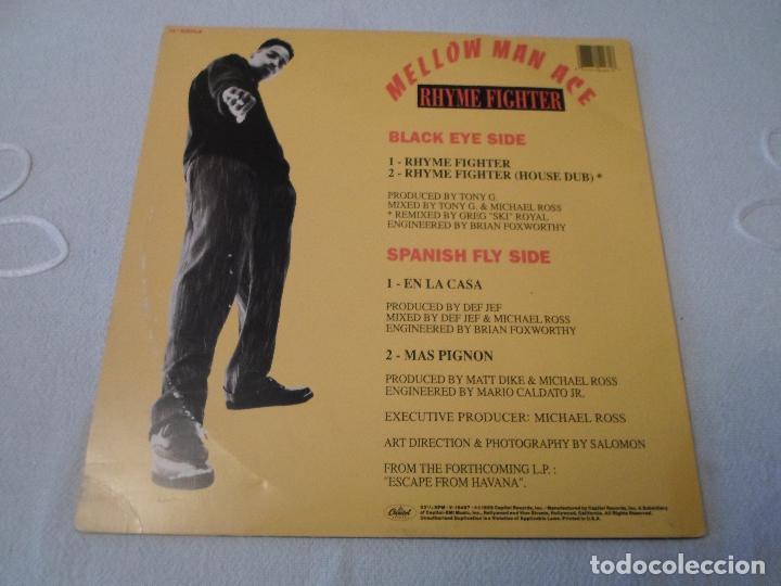 Discos de vinilo: MELLOW MAN ACE - RHYME FIGHTER - Foto 2 - 68715469