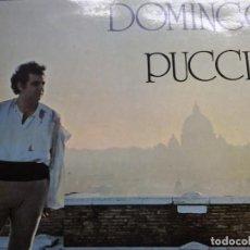 Discos de vinilo: DOMINGO A PUCCINI. Lote 68718925