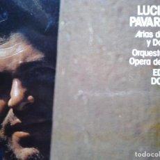 Discos de vinilo: LUCIANO PAVAROTTI ARIAS DE VERDI DONIZETTI DECCA. Lote 68723681
