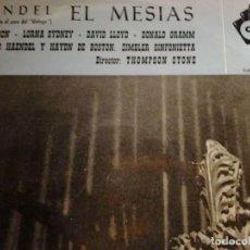 Discos de vinilo: HAENDEL EL MESIAS DECCA. Lote 68724549