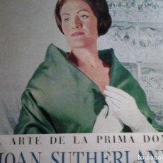 Discos de vinilo: EL ARTE DE LA PRIMERA DONNA JOAN SUTHERLAND DECCA. Lote 68725397