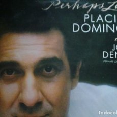 Discos de vinilo: PERHAPS LOVE PLACIDO DOMINGO WITH JOHN DENVER. Lote 68726213