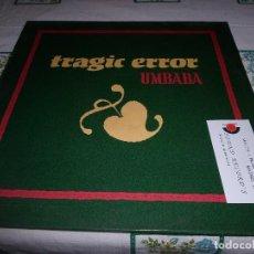 Discos de vinilo: UMBABA TRAGIC ERROR. Lote 68726917