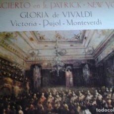 Discos de vinilo: CONCIERTO EN ST PATRICK NEW YORK GLORIA DE VIVALDI . Lote 68727065