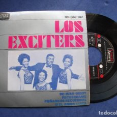 Discos de vinilo: LOS EXCITERS DO-WAH-DIDDY, RECUERDAME +2 EP SPAIN 1963 PDELUXE. Lote 68732977