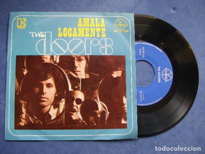 THE DOORS AMALA LOCAMENTE + 3 EP MEJICO PDELUXE (Música - Discos de Vinilo - EPs - Pop - Rock Internacional de los 70)