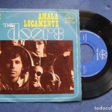 Discos de vinilo: THE DOORS AMALA LOCAMENTE + 3 EP MEJICO PDELUXE. Lote 68734625